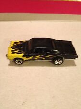 Hot Wheels 1967 Pontiac GTO Black w/ Yellow Flames
