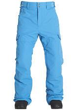Billabong Hammer Ski Snowboard Pants Salopettes- Aqua Blue Large