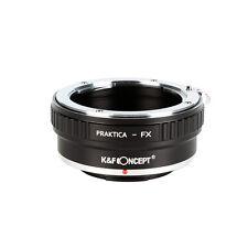 K&F concepto Praktica PB B Lente Adaptador de Montaje de Cámara Fujifilm X-Pro1 FX X-Pro1