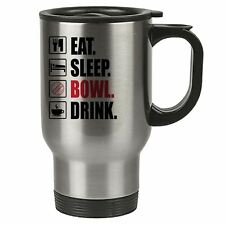 eat sleep Ciotola - Cricket TERMICA TAZZA DA VIAGGIO - acciaio inox -