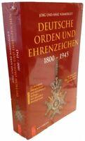 Deutsche Orden und Ehrenzeichen 1800-1945 (Jörg Nimmergut) - 22. Auflage 2019