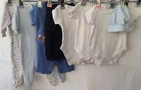 Baby Boys Bundle Of Clothing Age 0-3 Months Baby Gap John Lewis George <H555