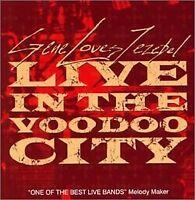 Gene Loves Jezebel - Live in the Voodoo City [CD]