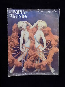 1925 Paris Plaisirs Pleasure Magazine #38