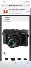 NEW IN BOX Panasonic LUMIX LX100 II 17.0MP Digital Camera - Black