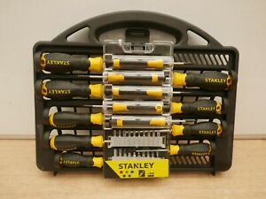 STANLEY 34PCE MIXED SCREWDRIVER SET STHT0 62141