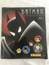 Batman the Animated Series Panini Stickers Album '93 Incomplete Joker Cat Woman