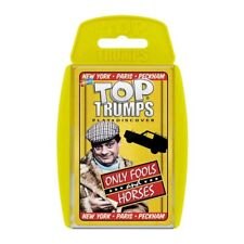 OFFICIAL ONLY FOOLS AND HORSES TOP TRUMPS PLAYING CARD GAME