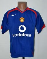 MANCHESTER UNITED 2005/2006 AWAY FOOTBALL SHIRT JERSEY NIKE SIZE S ADULT