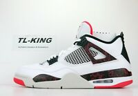 Nike Air Jordan 4 Retro Flight Nostalgia Hot Lava Bright Crimson 308497-116 CR