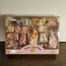 Krissy Sister Of Barbie Baby Layette Doll & Accessories 26572 1999 Mattel New