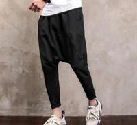 Korean Men Leisure Pant Slacks Show Fashion Hip Hop Street Harem Trousers Hot