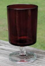 VINTAGE CAVALIER STEMWARE LUMINARC ARCOROC FRANCE 8 oz RUBY RED WINE/WATER GLASS