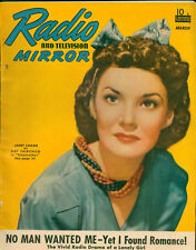 Radio &TV Mirror March 1941 Magazine 3rd Superman in Radio serial with art.
