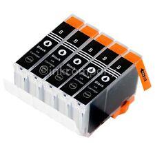 5 Tintenpatrone Druckerpatrone kompatibel zu CANON CLI 8 XL BLACK BK mit Chip