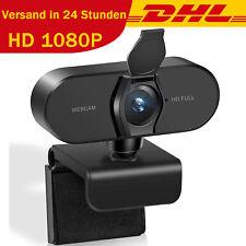 1080p Full HD 30FPS Webcam USB2.0 3.0 Mit Mikrofon Webkamera für Laptop PC DHL