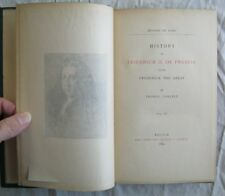 History Of Friedrich II of Prussia Vol 4 Thomas Carlyle Edition De Luxe 1884