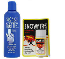 Gloves In A Bottle Shielding Lotion 240ml - Snowfire 18g Chapped Cracked Hands