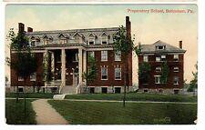 1911 postcard-Preparatory School, Bethlehem, Pa.