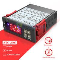 Digital STC-3000 DC24V Temperature Controller Thermostat Sensor with NTC Probe