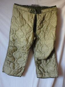 US Army M65 Field-Trouser Liner M-65 Pants , Hose Innenfutter