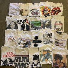 New ListingVintage Wholesale T shirt 20 Lot Graphic 00s Bundle Artist Rock Music R&B