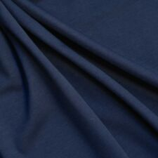 Navy Blue Ponti Roma 4 way Stretch Heavy Jersey Fabric 150cm wide 280gsm - Per M