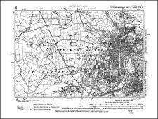 Stockton on Tees, East Hartburn, old map Durham 1898: 50SE repro