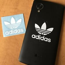 "Pair of Adidas Stickers for Phone Back or Case 1.5"" Vinyl Decal"