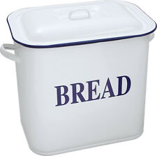 Falcon Traditional Enamel Oblong Breadbin with Slight Imperfections