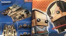 LEGO Star Wars Last Jedi Brickheadz / Sandspeeder Target Exclusive Poster 28x22
