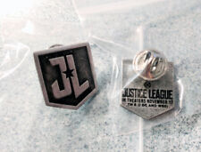 JUSTICE LEAGUE movie promo collectible PIN pinback DC Comics DCEU Superman Flash