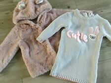 MOTHERCARE NEXT GIRLS SMALL  AUTUMN WINTER BUNDLE / OUTFIT  AGE 18-24MTHS