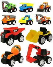 Toys Wishkey 10 Pcs Construction Vehicles Pull Back Toy Cars Playset Truck