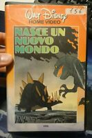 "VHS "" NASCE UN NUOVO MONDO "" WALT DISNEY HOME VIDEO -"
