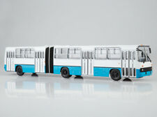 Scale model bus 1:43, Ikarus-280 (white and blue)