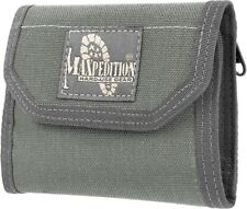 Maxpedition CMC Wallet Foliage Green Cards Coins Memory Card Velcro Closure