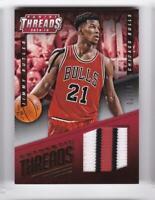 2014-15 Jimmy Butler #/25 Patch Panini Threads Bulls