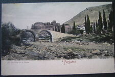 Turkey Pergamos 1900s Byzantine Church and Bridge