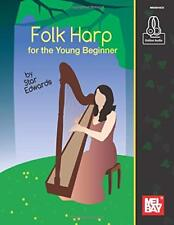 """MEL BAY """"FOLK HARP FOR THE YOUNG BEGINNER"""" MUSIC BOOK/ONLINE AUDIO-NEW ON SALE!!"""