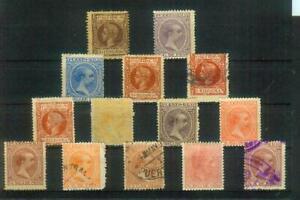 Seltenes Lot alter Briefmarken aus Puerto Rico