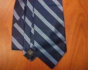 Brooks Brothers Makers Striped Pattern 100% Italian Woven Silk Tie ~NWT~ USA