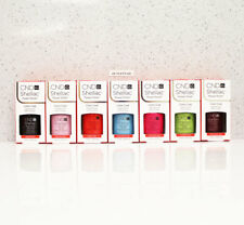 LOT 7 CND SHELLAC BASE TOP UV GEL NAIL COLOR KIT SET 7.3ml / 0.25oz Choose Any