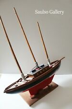 large antique model clipper ship MADEIRA from prominent estate collection