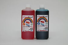 Classikool 2 x 1 Ltr Slushie Slush Puppy Syrup: 6 to 1 mix 78 Flavours & Colours