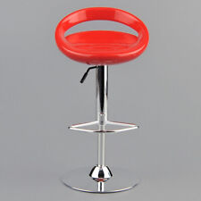 1/6 Scale Round Swivel Chair Pub Bar Stool for 12 Inch Action Figures Red