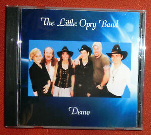 """The Little Opry Band """"Demo"""", original CD und Booklet, Nashville Country"""