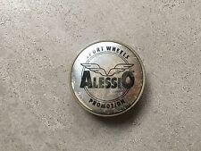 1X Alessio SPORT Lega Ruota Centro HUB Tappo EMBLEM BADGE in plastica