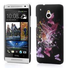 Funda rígida protección/- funda para HTC One Mini/m4 mariposas s04, móvil, funda protectora -/cáscara