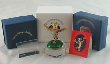 "Arribas Bros/Swarovski ""Tigger"" Jeweled Crystal Figurine with Plaque & Base COA"